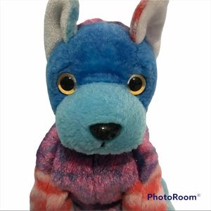 TY Beanie Baby Hodgepodge The multi Coloured Dog Plush Retired Toy Collectable